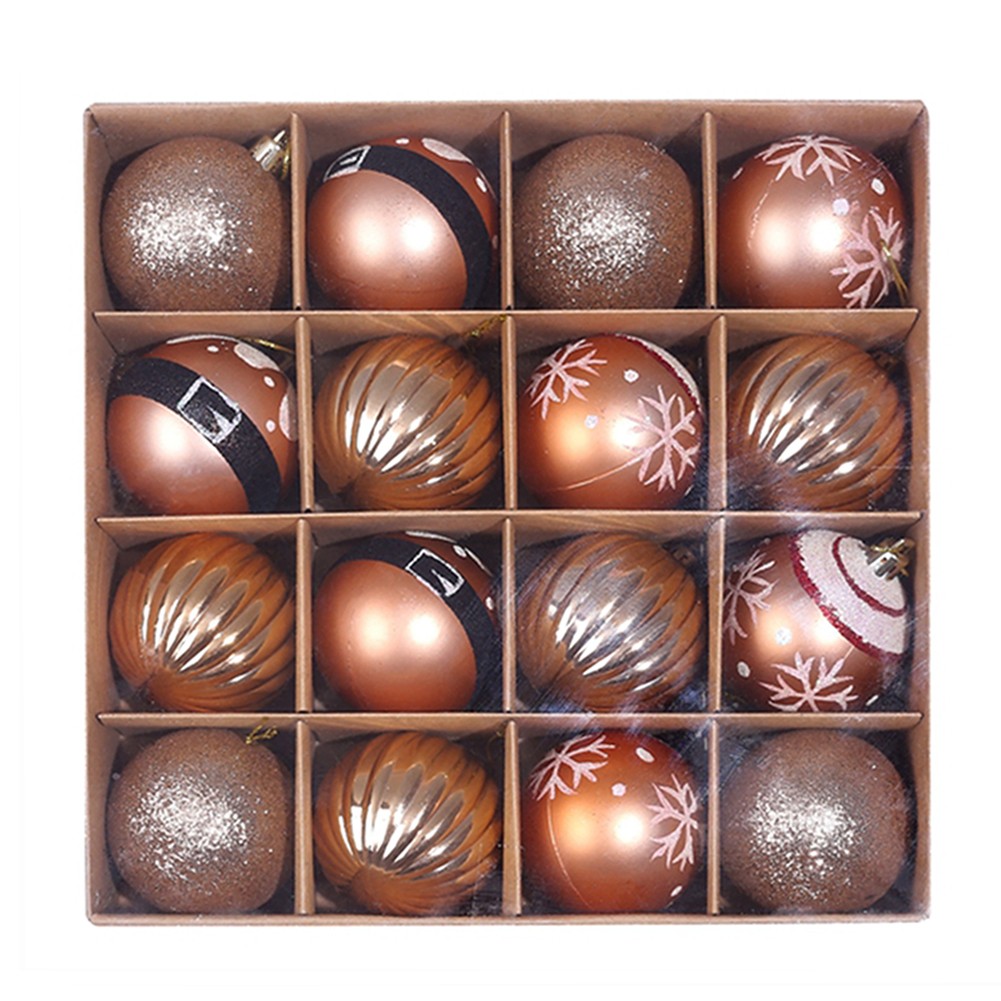 16 x Christmas Tree Baubles 10