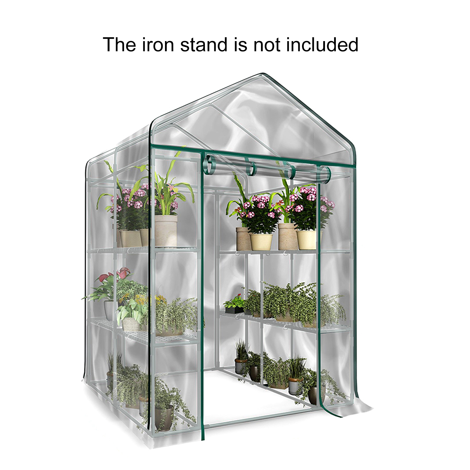 Garden Cover Transparent Greenhouse Cover 3 Tier Growhouse Cover