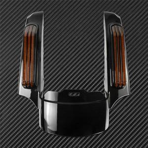 Image 3 - אופנוע LED אור אחורי סיומת פגוש Fascia סט להארלי סיור אלקטרה כביש Glide 2014 עד FLTRXS Ultra מוגבל FLHX
