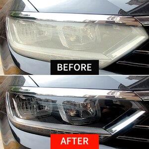HGKJ Car Headlights Restoration Kit Car Polish Car lights Tool Restore Rear lights Lens Repair Headlamp Scratch Remover Box sui