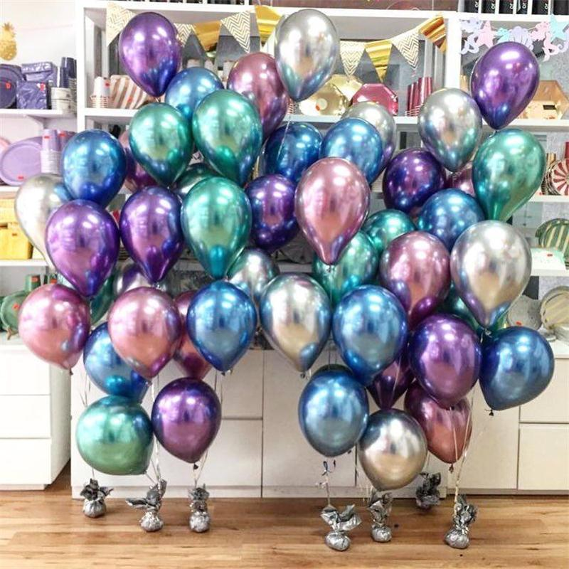 """50-100 Piezas Perla Fiesta de Cumpleaños Bodas Baby Shower Globos de Látex 12/"""" Globos"""