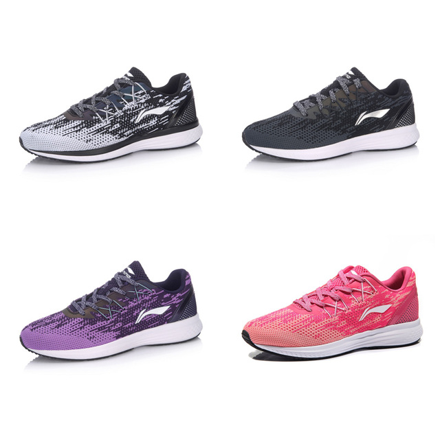 Li-Ning Women SPEED STAR Cushion Running Shoes Breathable Sneakers Textile LiNing li ning Sport Shoes ARHM082 XYP472 2
