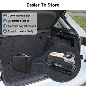 Image 5 - Deelife سوبر سريع ضاغط هواء للسيارة 12 فولت الرقمية السيارات منفاخ لإطارات السيارة الكهربائية الإطارات مضخة هواء للسيارات 12 فولت دراجة نارية SUV