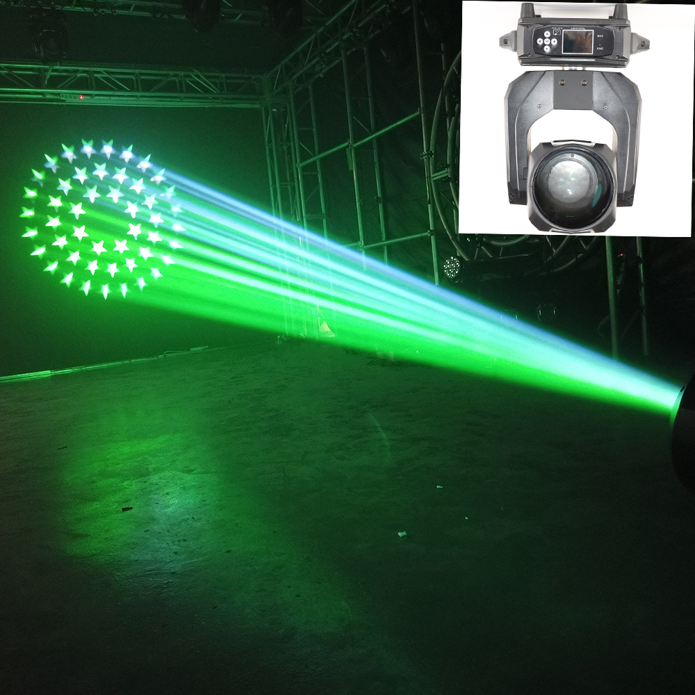 Sharpy קרן 260 260w הזזת ראש אור 10r 3in1 נע נבל עם גדול קשת אפקט