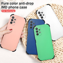 Shockproof Candy Color Case For Samsung A52 Simple Matte Back PC Cover For Samsung A12 A72 A42 A32 A52 Cover For Galaxy A526B