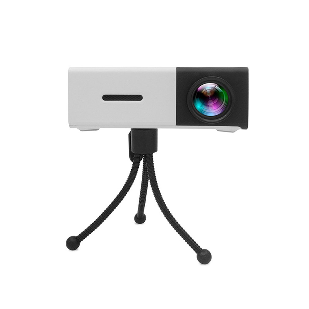 YG300 LED Mini Projector High Resolution Portable HD 1080P HDMI USB Projector Media Player US EU AU UK Socket