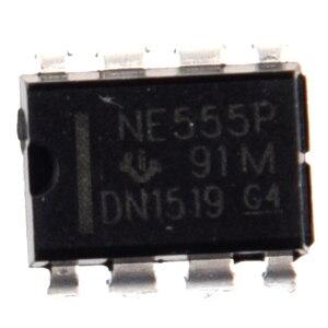 50 шт NE555P NE555 DIP-8 одиночные биполярные таймеры IC