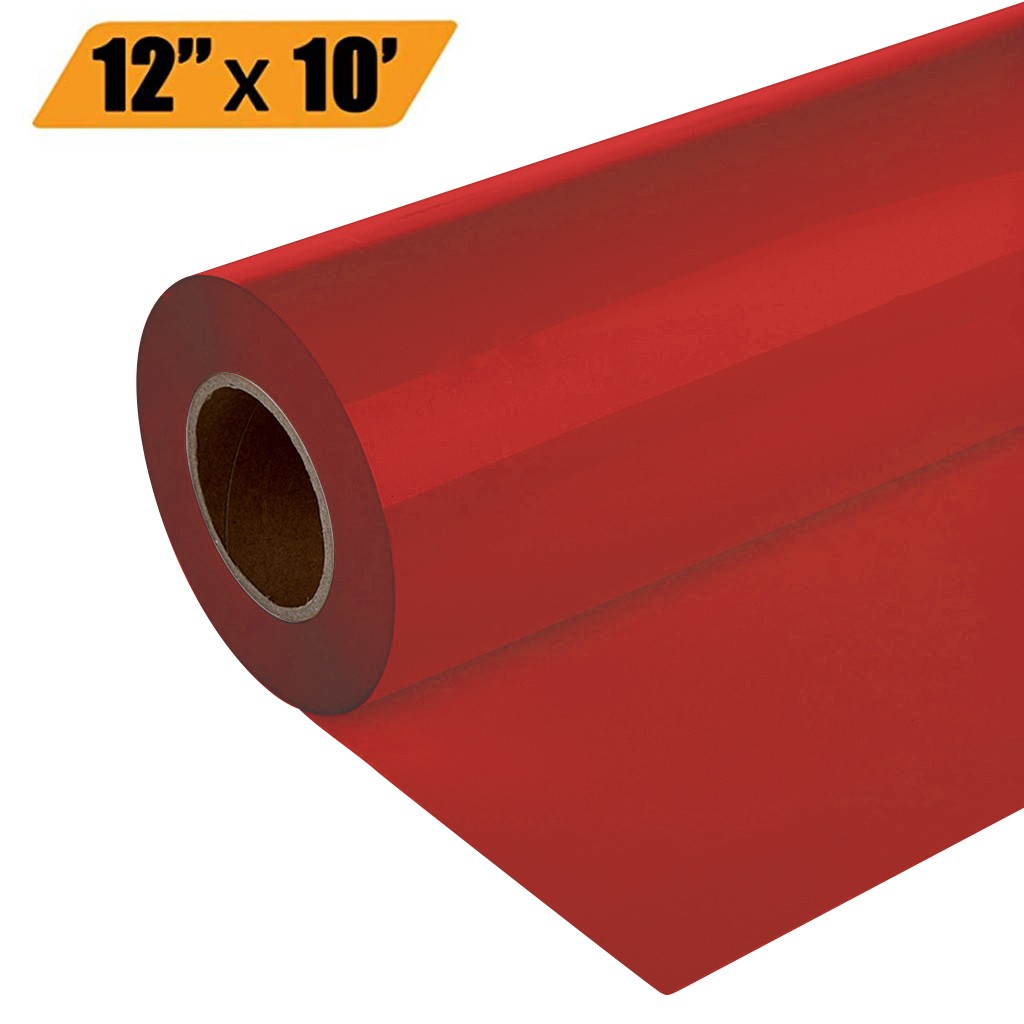 Heat Transfer Vinyl Roll Matte White Vinyl Roll Craft Self-Adhesive Film for DIY T-Shirt Letters Stickers Signs Heat Transfer Paper