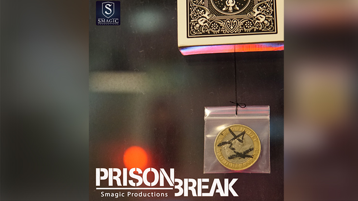 Prison Break By Smagic Productions Magic Tricks  Card Magia Close Up Accessories Gimmick Props Mentalism Comedy