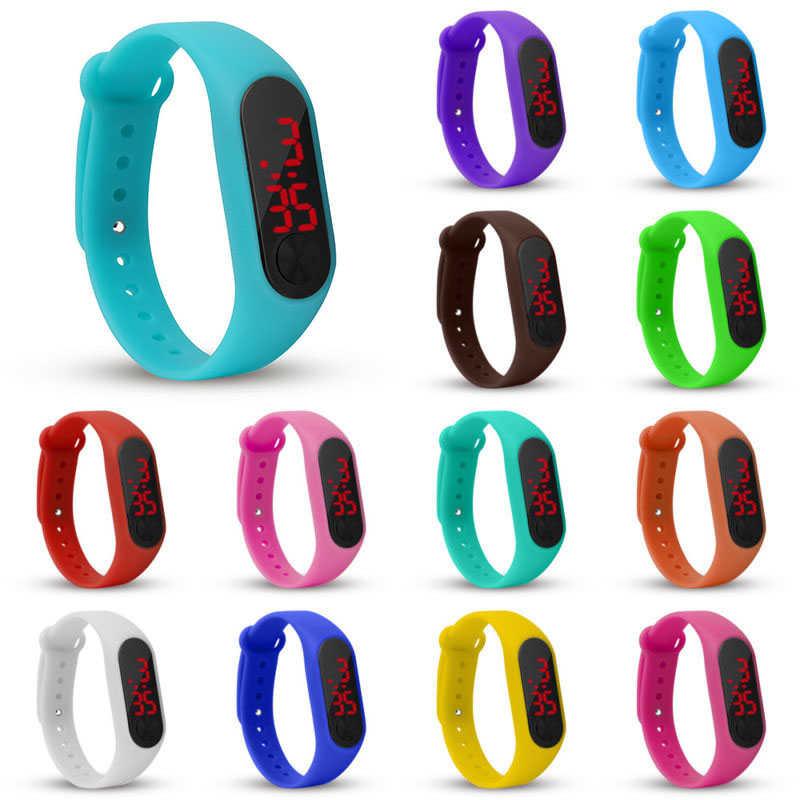 Popular Watch Children Watches For Girls Boys Kids Sport Electronic Wristwatch LED Digital Child Wrist Clock Students Watch