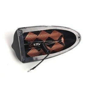 Image 5 - 자동차 슈퍼 상어 지느러미 안테나 특수 자동차 강한 신호 스티커 3 m 접착 자동차 피아노 페인트와 외부 부품 장식