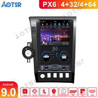DSP Vertical screen Tesla Style Android 9.0 Car multimedia Player For Toyota Tundra Sequoia 2007 2013 car radio Stereo head unit