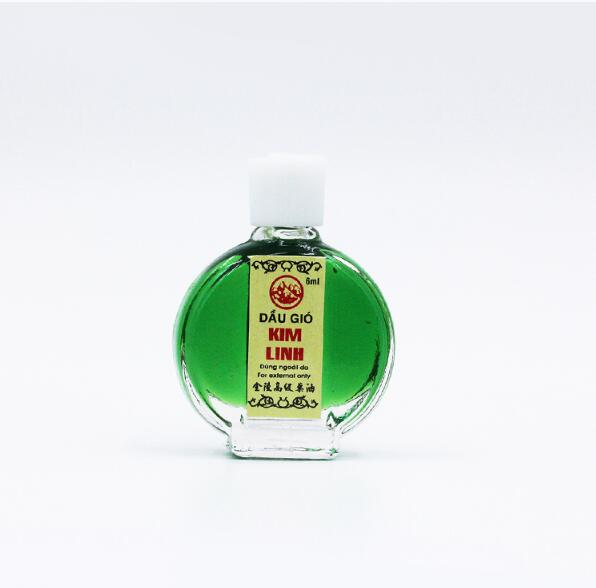 Vietnam Star Tiger Balm oil For Cold Headache Stomachache Dizziness Heat Stroke Insect Stings Essential Balm 6ml/pcs
