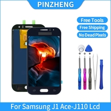 PINZHENG LCD For Samsung Galaxy J1 Ace J110 SM J110F J110H LCD OLED Display Touch Screen Digitizer Assembly Replacement Parts