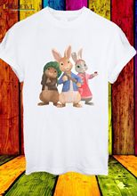 Peter Rabbit Lily Bobtail Benjamin Bunny Friends Men Women Unisex T-shirt 597 High Quality Casual Printing Tee Base Shirt