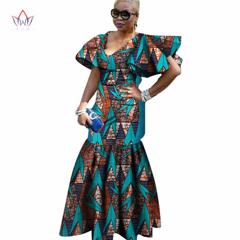 2020 African Dresses For Women Fashion Design Dashiki Women Bazin Riche V Neck Long Dress Dashiki Plus Size Natural 6xl Wy1264 African Dresses For Women African Dressafrican Dress Fashion Aliexpress