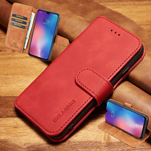 Leather Flip case for Fundas Samsung Galaxy A10 A20 A30 A40 A50 A70 M10 M20 M30 Magnetic Retro Wallet Card Book Cover
