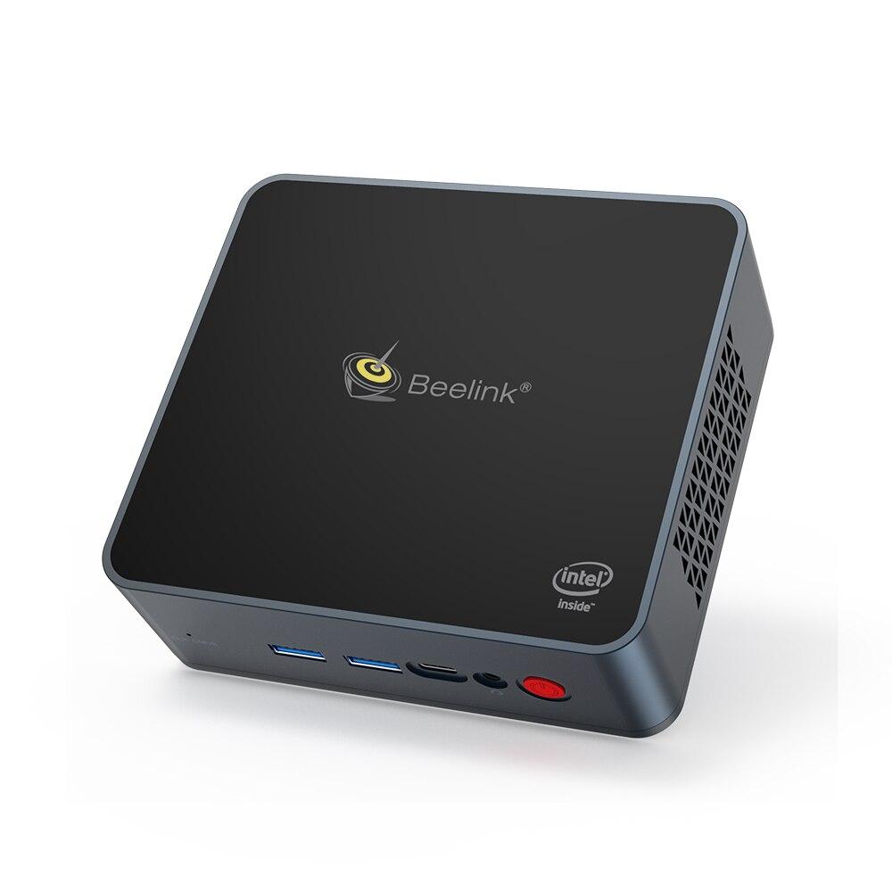 Предварительная продажа Beelink GK55 мини ПК Intel celeron J4125 до 2,7 ГГц 8 ГБ ОЗУ 128 ГБ Windows 10 двойной Wi-Fi 4K UHD Настольный ПК компьютер