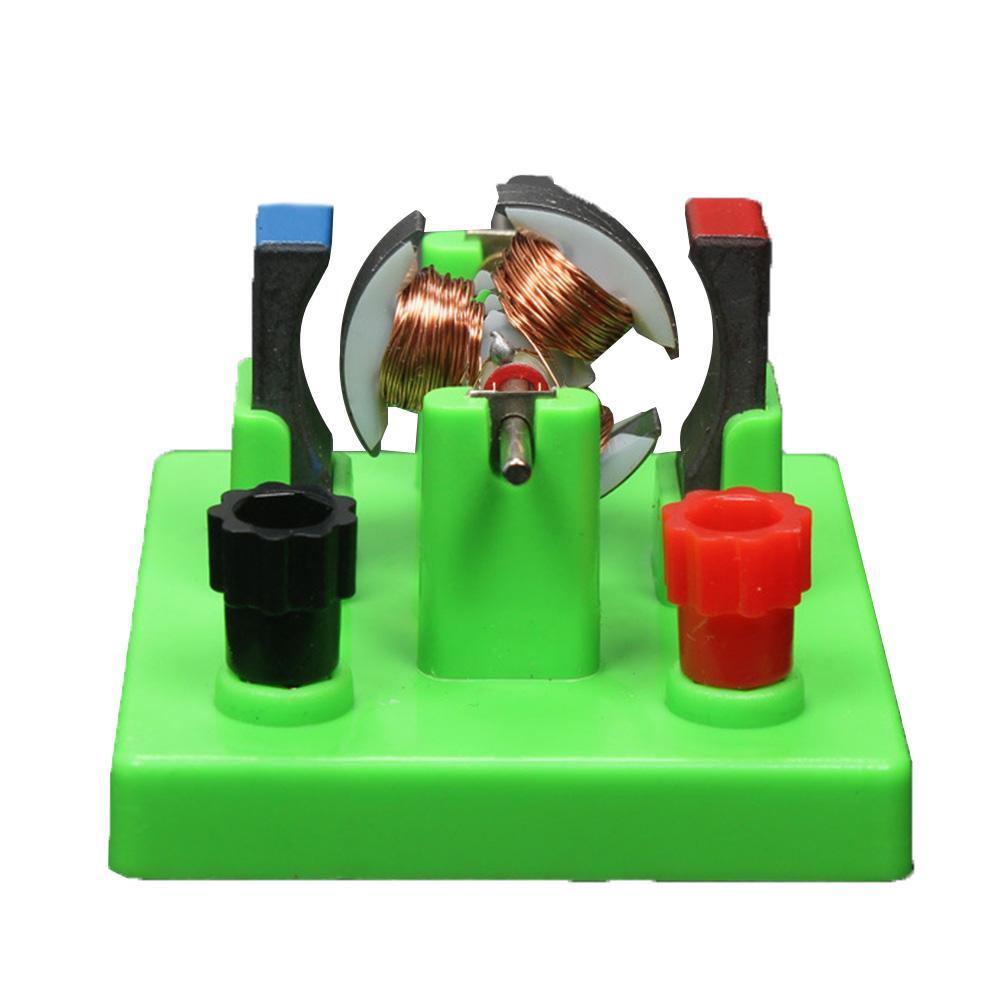 Новая модель электромотора для самостоятельной сборки с питанием постоянного тока, учебный пособий для эксперимента по физике, Детская шко...