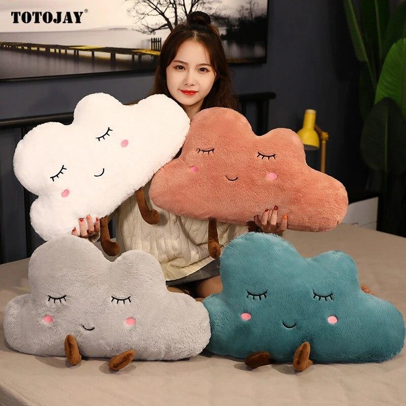 Cloud Shape Pillow Cushion Soft Stuffed Plush Doll Sofa Home  CPUK