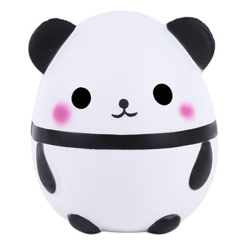 New Jumbo Kawaii Panda Squishy Slow Rising Creative Animal Doll Soft Squeeze Toy Bread Scent Stress Relief Fun for Kid Xmas Gift jumbo kawaii chocolate biscuit squishy soft squeeze toy simulation bread cake scented slow rising anti stress fun for kid gift