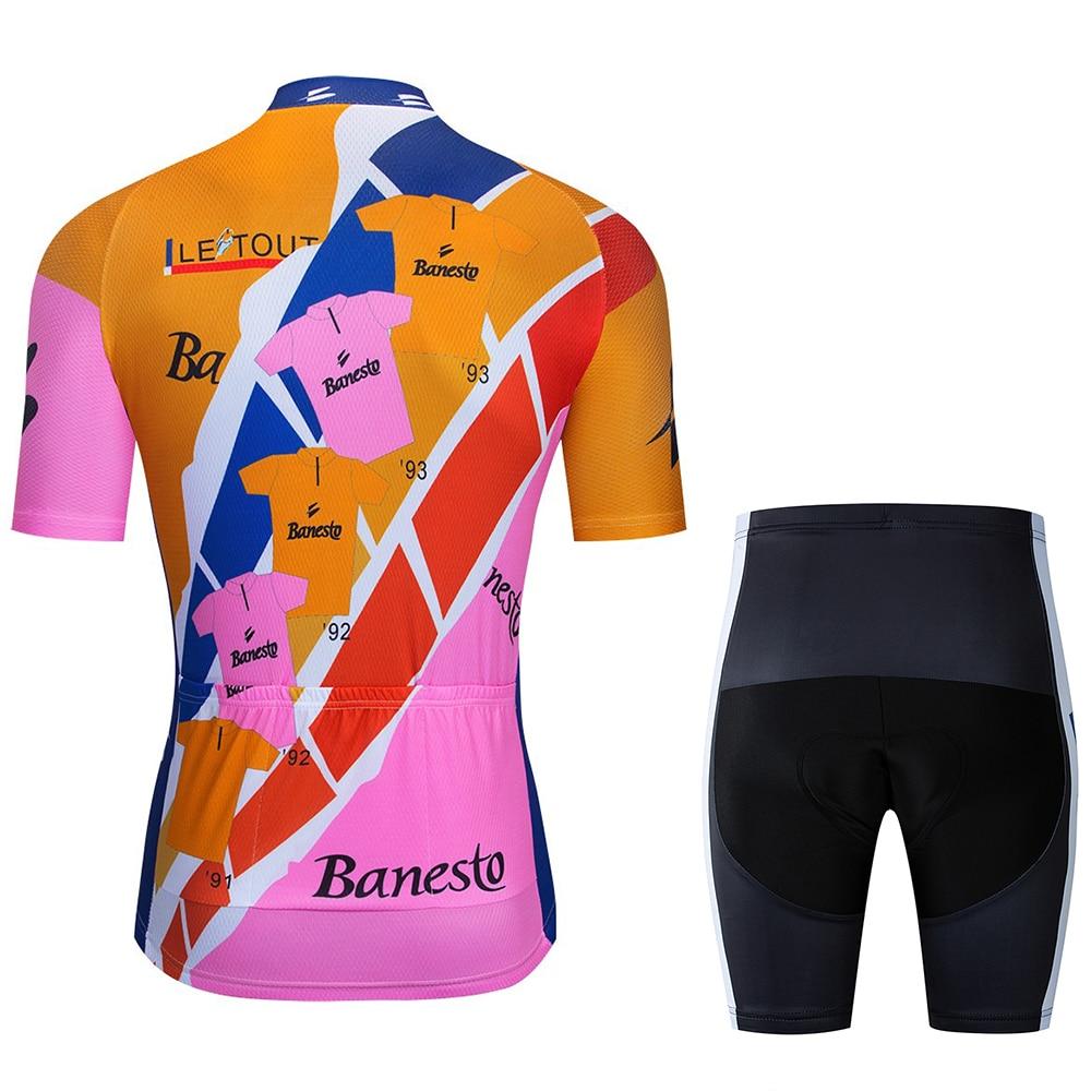 Новинка 2020 г велосипедная Джерси шорты с подкладкой 9d комплект