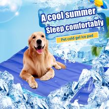 Zimny żel Pet nakładka chłodząca pies fajna podkładka odświeżająca letnia poduszka dla kota chłodzenie artefakt kryty Pet chłodzenie koc na łóżko