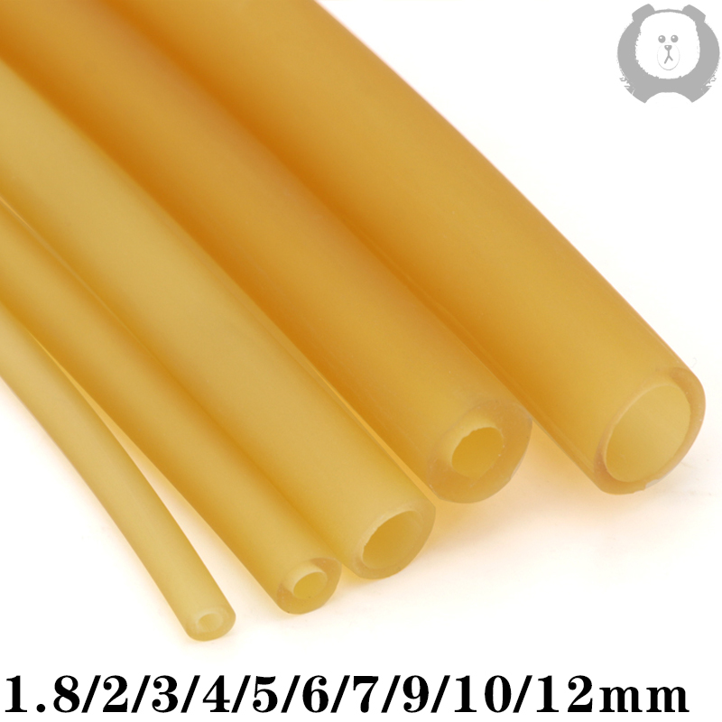 Латексные резиновые шланги 2 3 4 5 6 7 9 10 12 14 17 мм ID x OD высокоэластичные хирургические медицинские шланги Рогатка катапульта