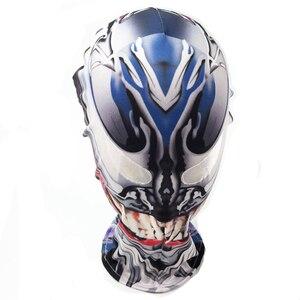 Image 5 - Disfraz de Spiderman simbionte Venom, disfraz de película Venom, disfraz de Zentai negro de Marvel, Disfraces de Halloween para hombres, adultos, niños, chicos, novedad 2018