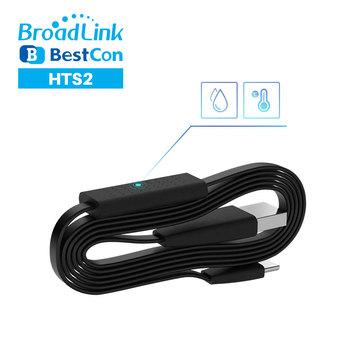 Broadlink czujnik zdalny temperatury i wilgotności akcesoria kabel USB HTS2 współpracuje z RM4 Pro lub RM4 Mini inteligentny pilot zdalnego sterowania tanie i dobre opinie CN (pochodzenie) Broadlink Temperature And Humidity Remote Sensor Ready-to-go Gniazdo None 2 kanały smart remote air sensors