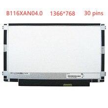 For HP Pavilion 11-K120nr 11-K163NR 11-K020NR X360 LTN116AL01-301 B116XAN04.0 NON-touch Laptop LCD Screen panel display matrix