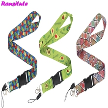 Ransitute Fashion Lanyard Key ID Card Mobile Phone Rope