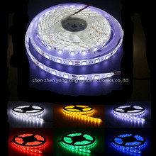12 в 1 м 5 м SMD 5050 RGB белый водонепроницаемый 300 светодиодный гибкий 3м ленточный светильник