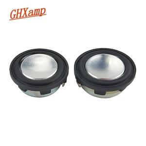 Image 3 - GHXAMP 1 inç 4Ohm 2W Mini hoparlör 28mm PU yan tam aralıklı ses orta kademe bas MP3 Bluetooth hoparlör yuvarlak 1 çift