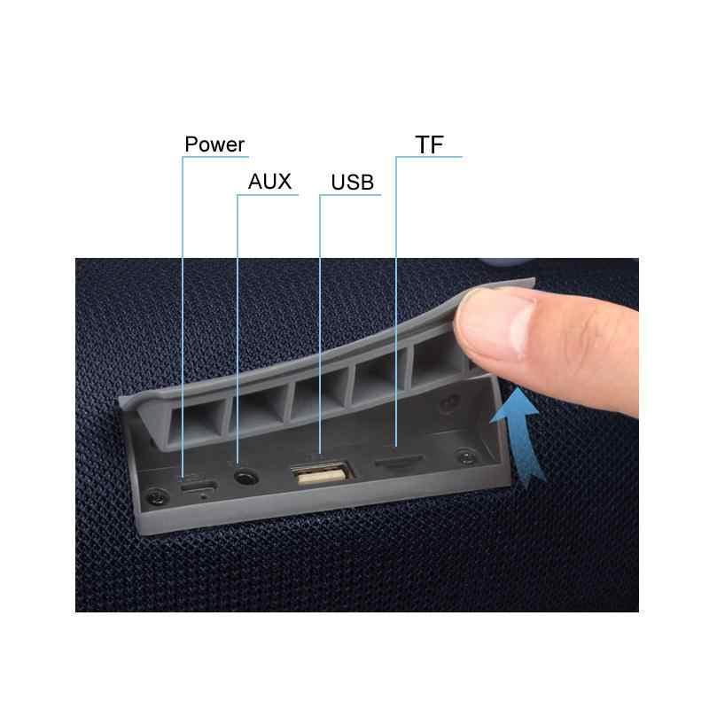 Naprawdę 40W głośnik Bluetooth przenośna kolumna odtwarzacz muzyczny nagłośnienie boom box z radiem FM Aux TF Subwoofer dotube TG 125