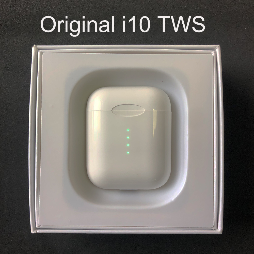 Original i10 <font><b>TWS</b></font> Wireless <font><b>Bluetooth</b></font> <font><b>5.0</b></font> <font><b>Earbuds</b></font> Earphone Wireless Charging For iPhone Android Phone PK <font><b>i12</b></font> i30 i60 i200 <font><b>tws</b></font> image