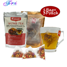 цена на 3pcs/Bag Furuize Warming Womb Tea detox Herbal Uterus Cleansing Tea Irregular Menstruation Womb Detox Tea