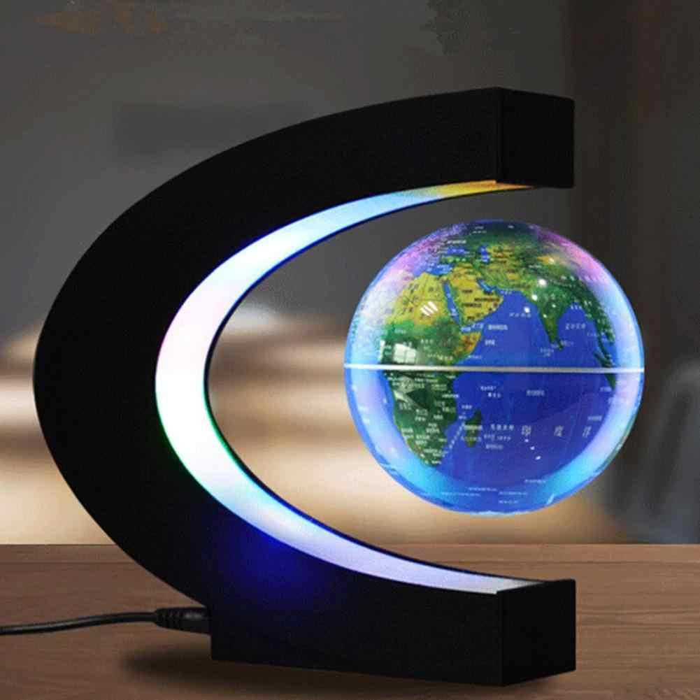 LumiParty LED Elektronische Magnetic Levitation Schwebender Globus Anti-schwerkraft LED Nacht Licht Wohnkultur Neuheit geschenk