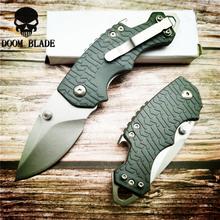 150mm 5CR15MOV ostrze noże Mini Retro składany nóż Jackknife na zewnątrz mały scyzoryk Survival noże myśliwskie Camping tanie tanio Doom Blade Elektryczne 57HRC Drewna STEEL Szwajcarski nóż