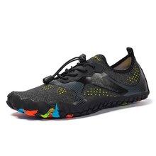 Venda quente sapatos de água ao ar livre praia sapatos de natação 2019 verão unisex tênis secagem rápida esportes dos homens sapatos de água