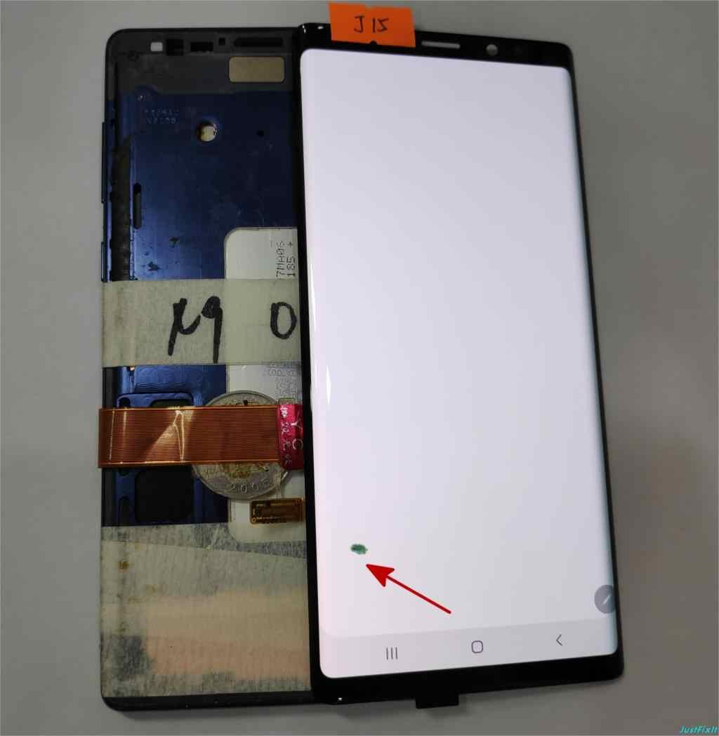 """עבור Samsung Galaxy הערה 9 N960 N960F N960D N960DS פגם Lcd תצוגת מסך מגע Digitizer הרכבה 6.4 """"Note9 מקורי"""