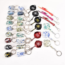 2019 New Colour PUBG Key Chain FPS Game Player Unknowns Battle Grounds 3D Keychains Car Purse Men ring Holder Trinkets Gift
