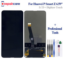 6.59 1080x2340 For Huawei P Smart Z STK-LX1 LCD Display Touch Screen Digitizer Assembly Parts for Y9 Prime (2019)