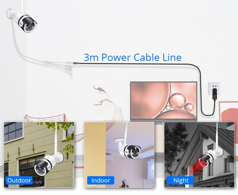 Hiseeu 2MP Wifi Waterproof Outdoor IP Security Camera 5