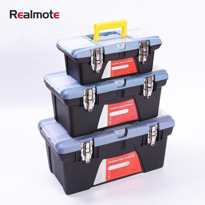 Toolbox Large Capacity Hardware Electrical Portable Storage Repair Tool Box Case For Car Repair Houshold DIY Hand Power