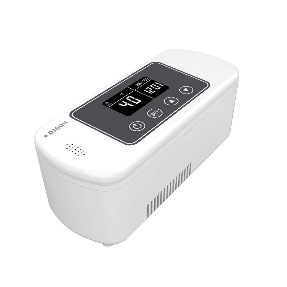 DISON Case Refrigetator Battery Operated Cooler Box Refrigerator Fridge