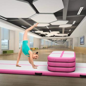 Free Shipping Gym Mat Inflatable Gymnastics Tumble Track Air Block Air Board Airtrack