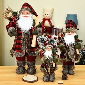 Merry Christmas Decorations for Home Children's Christmas New Year Gift Toys Shopping Mall Window Christmas Ornaments Navidad