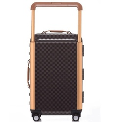 Fashion luxe persoonlijkheid 20/24 inch size hoge kwaliteit PC Retro plaid Rolling Bagage Spinner merk Reizen Koffer