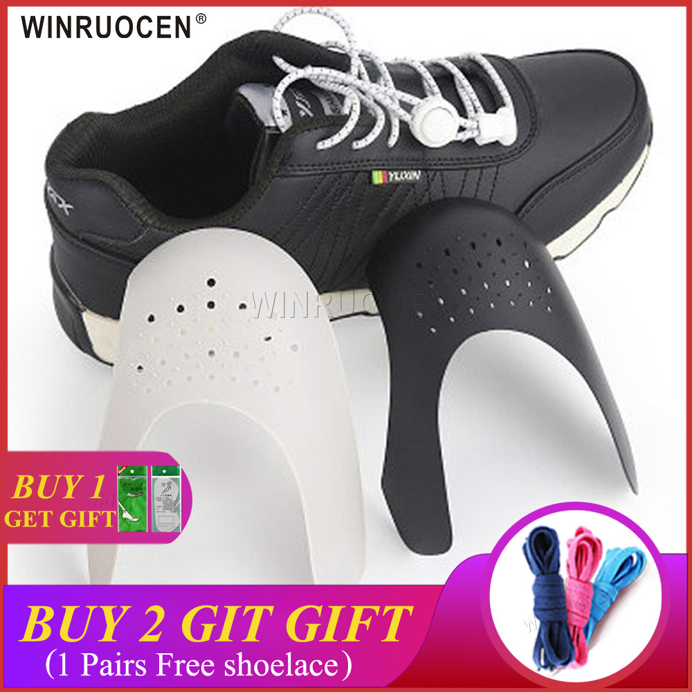 WINRUOCEN Shoe Shield Sneaker Shields Anti-Crease Fold Shoes Support Bending Crack Toe Cap Shoes Strecher Protector
